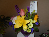 Language of flowers Birthday Wishes
