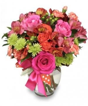 Language of Love Spring Flowers in Linden, NJ | Charlie's Flowers & Gourmet Baskets