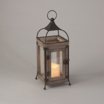 Wood and Wire Lantern