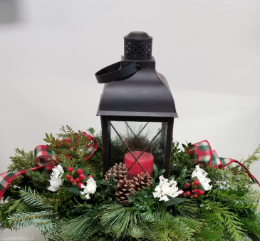 Lantern Centerpiece Christmas