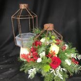 Lantern Holiday Centerpiece