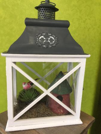 Bird Scene Lantern