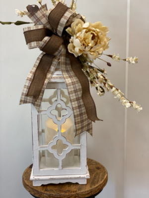 Lantern with LED candle  in Hermitage, TN | IN FULL BLOOM FLOWERS + GIFTS
