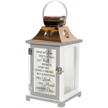 lantern with verse Sympathy