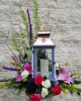 Lantern With Flowers Example