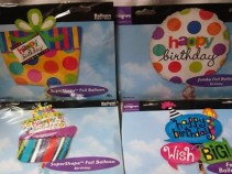 "EXTRA LARGE 23"" TO 31"" BALLOONS FOR A BIRTHDAY includes a weight.WE CAN ADD ONE OF THESE TO FOOD OR A FLOWER VASE."