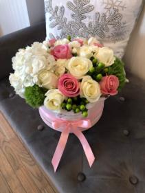 Large Flower Box Arrangement Assorted Flowers