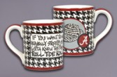 Large Alabama Houndstooth Mug