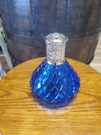 Large Blue Kiss Effusion Oil Lamp Effusion Oil Lamp