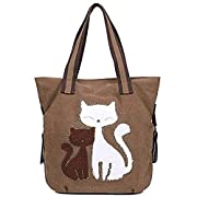 Canvas Cat Tore ~ brown