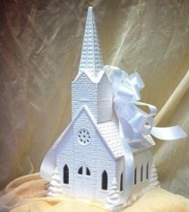 Large Ceramic Church Keepsake Inspirational