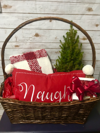 Large Christmas Basket Gift