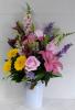 Large Country Crock Floral Design