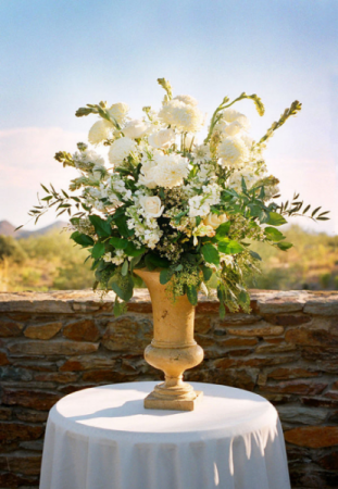 Large floral centerpiece wedding, party, etc
