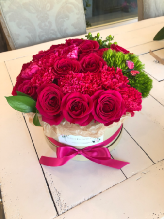 Radiance Flower Box Arrangement Assorted Flowers