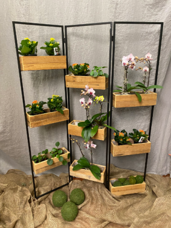 Large folding  plant stand