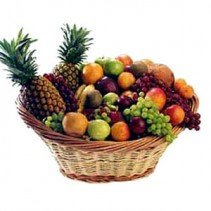 Large Fruit Baskets from Roma flower shop