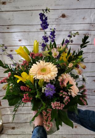Large Garden Style  vase arrangement