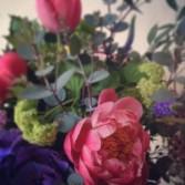 Gathered Garden Handtied Bouquet