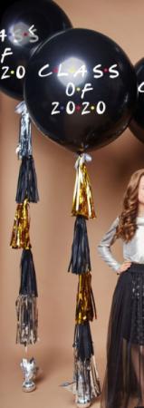 LARGE GRADUATION BALLOON AND TASSEL  2021 Helium Balloon bouquet