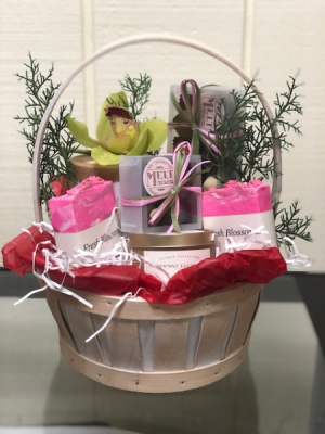 Large Hand Made Local Gift Basket Gift Basket in Fairfield, CT | Blossoms at Dailey's Flower Shop