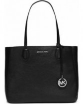 Large Mae Leather Tote Michael Kors