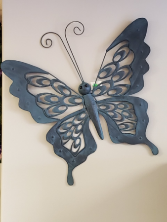 Large Metal Butterfly Giftware