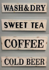 Large Metal Wall Signs