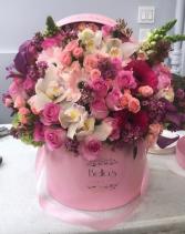 Large Pastel Pink Box
