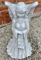 Large Planter Angel  Stone