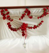 LARGE ROSARY WITH 53 R0SES
