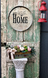 METAL HOME SIGN  HOME DECOR