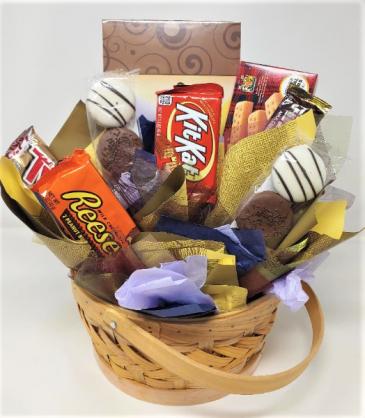Large Snack Basket Gift Item