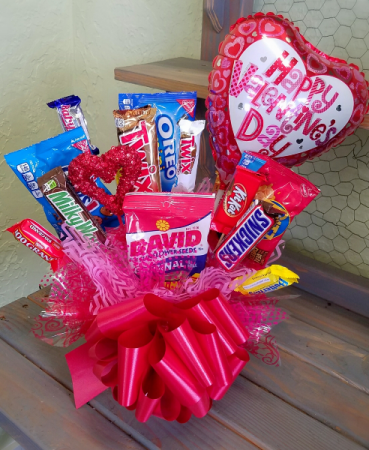 Large Snack/Candy Bouquet Valentine's Day