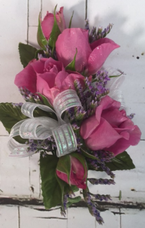 Large Spray Rose Corsage Prom Corsage