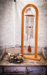 Large Cathedral Stand & Wind Chime Sympathy Wind Chime