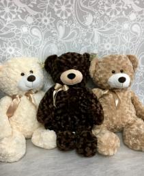 "One Lg.30""Teddy Bear Cream, Brown or Tan"