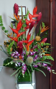 Tropical Expression 2837 Modern/ Tropical Design in Houston, TX | EXOTICA THE SIGNATURE OF FLOWERS