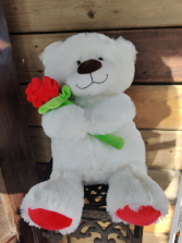 Large Valentines Teddy Bear