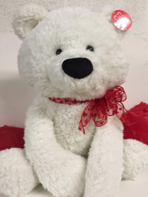 Extra Large White Bear