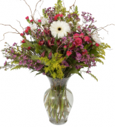 Large Wild Flower Vase Large vase fresh flower