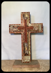 LARGE WOODEN CROSS