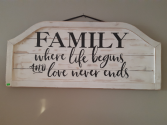 Large Wooden Sign Best Seller