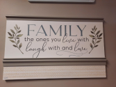 Large Wooden Sign Giftware