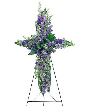 Larkspur Affinity Cross Sympathy in Nevada, IA | Flower Bed