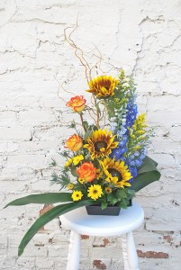 Last Sunrise Sympathy Arrangement