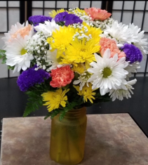 Lasting Color Vased Arrangement