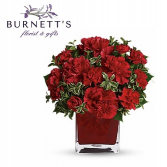 Lasting Love Valentines Vase Arrangement