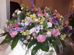 Lasting Love Casket Spray in Dothan, AL   Flowers of Hope