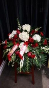 Lasting Love  casket spray